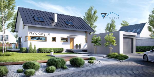 Immagine Nostre Ville - la parte frontale di Villa V4