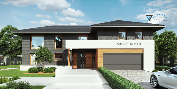 Immagine Ville di V7 Group Srl - la parte frontale di Villa V40