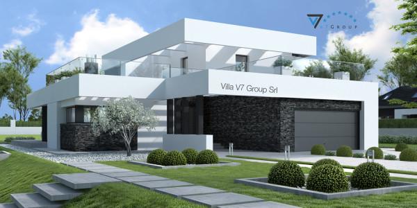 Immagine Ville di V7 Group Srl - la parte frontale di Villa V41