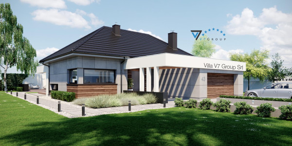 Immagine Ville di V7 Group Srl - la parte frontale di Villa V43