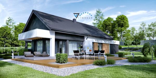 Immagine Nostre Ville - la parte del giardino di Villa V44 (G1)