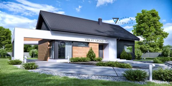 Immagine Nostre Ville - la parte frontale di Villa V44