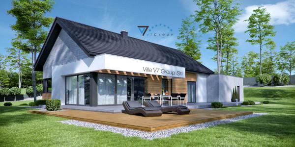 Immagine Nostre Ville - la parte del terrazzo esterno di Villa V45 (G2)