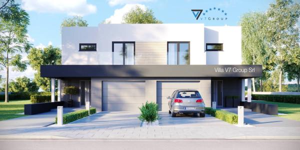 Immagine Ville di V7 Group Srl - la parte frontale di Villa V52 (D)