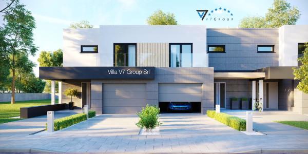 Immagine Ville di V7 Group Srl - la parte frontale di Villa V52 (B2)