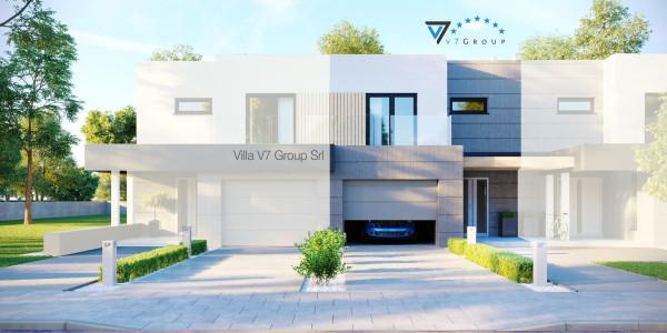 Immagine Ville di V7 Group Srl - la parte frontale di Villa V52 (S)