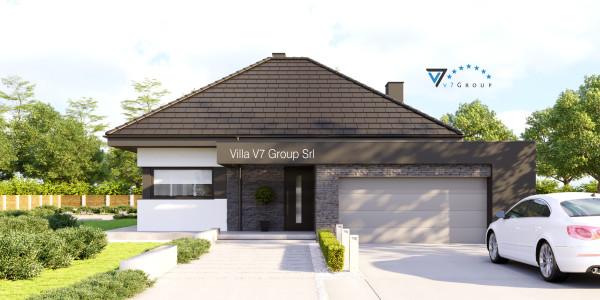 Immagine Nostre Ville - la parte frontale di Villa V55