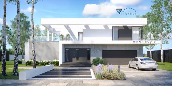 Immagine Ville di V7 Group Srl - la parte frontale di Villa V62