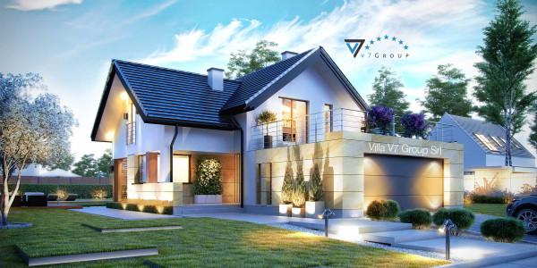 Immagine Nostre Ville - la parte frontale di Villa V7