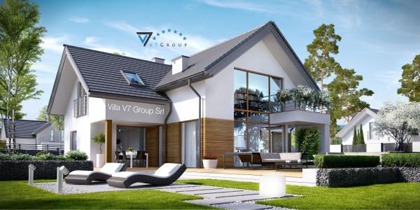Immagine Nostre Ville - la parte del giardino di Villa V8