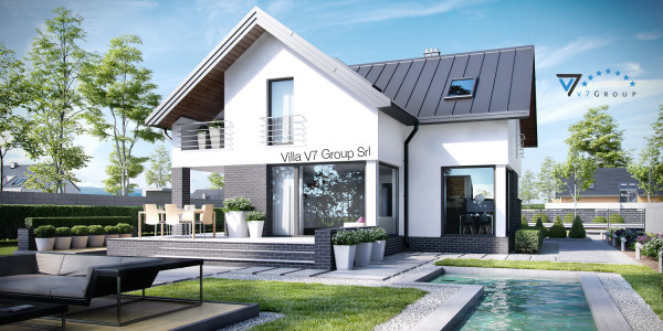 Immagine Nostre Ville - la parte del giardino di Villa V9