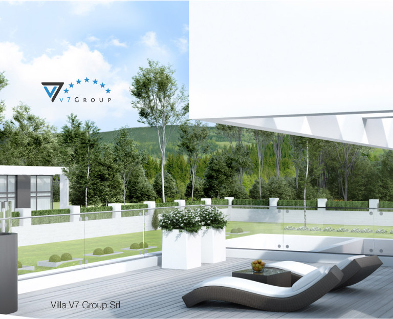 Immagine Villa V41 (progetto originale) - vista terrazzo esterno al primo piano piccola