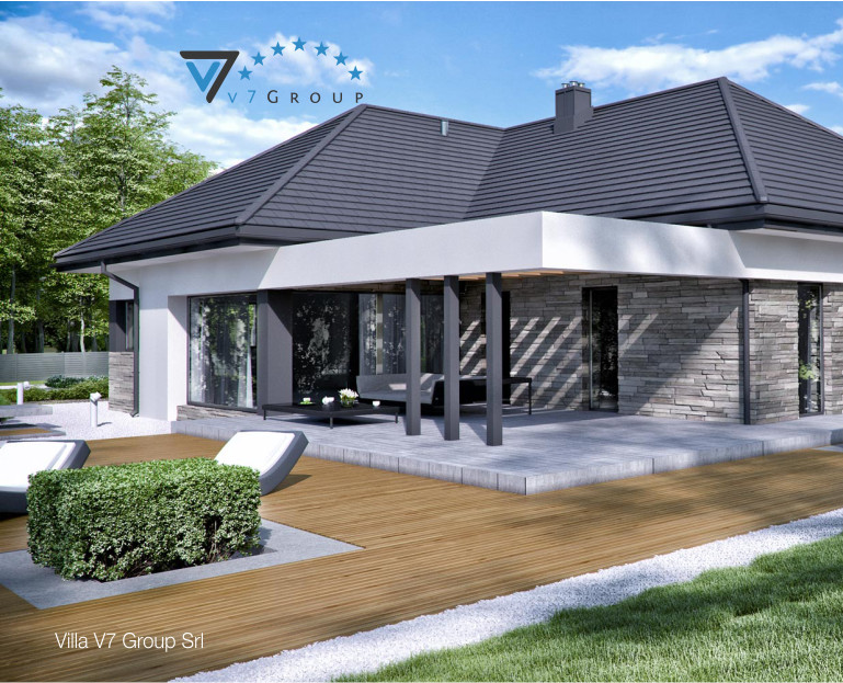 Immagine Villa V42 (B) - vista giardino piccola