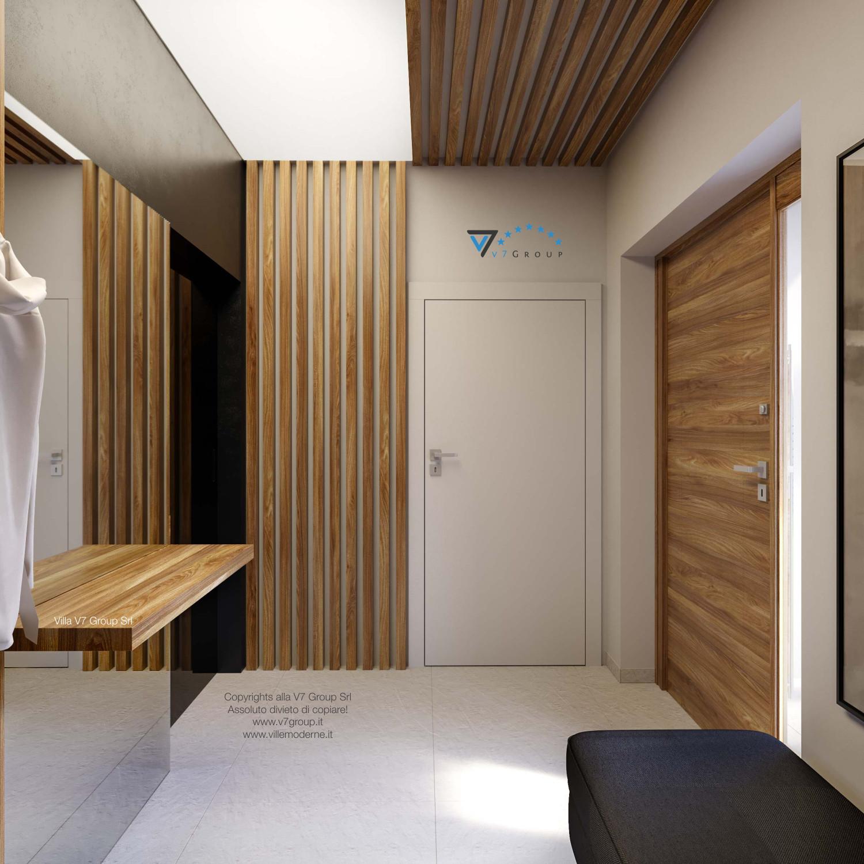 Immagine Villa V42 (progetto originale) - interno 11 - guardaroba ed entrata principale