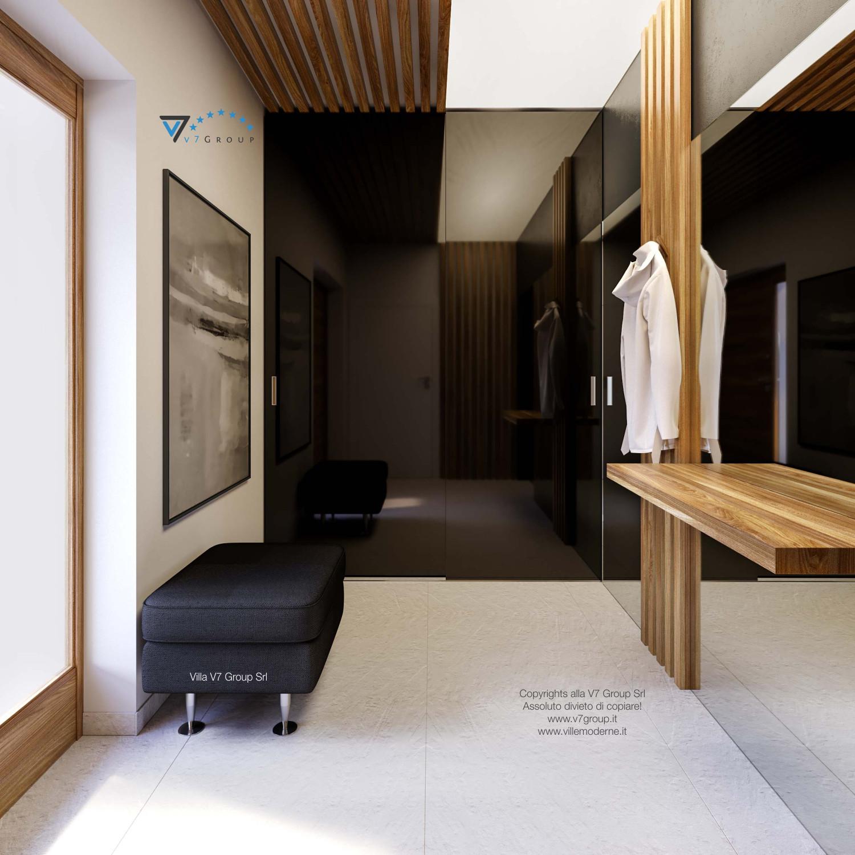 Immagine Villa V42 (progetto originale) - interno 13 - il design della guardaroba