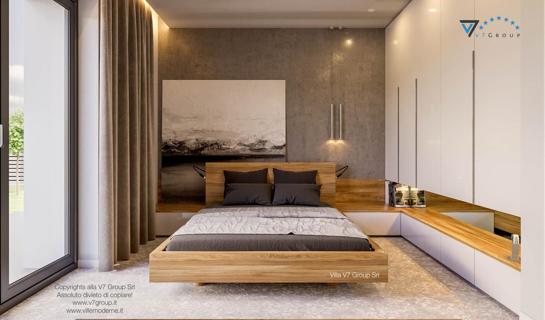 Immagine Villa V42 (progetto originale) - interno 14 - camera matrimoniale