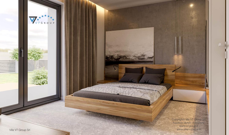 Immagine Villa V42 (progetto originale) - interno 15 - camera matrimoniale