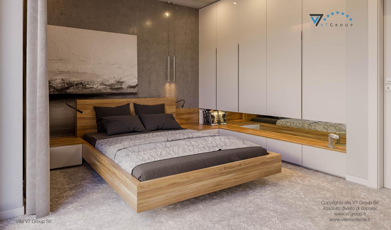 Immagine Villa V42 (progetto originale) - il grande letto al centro