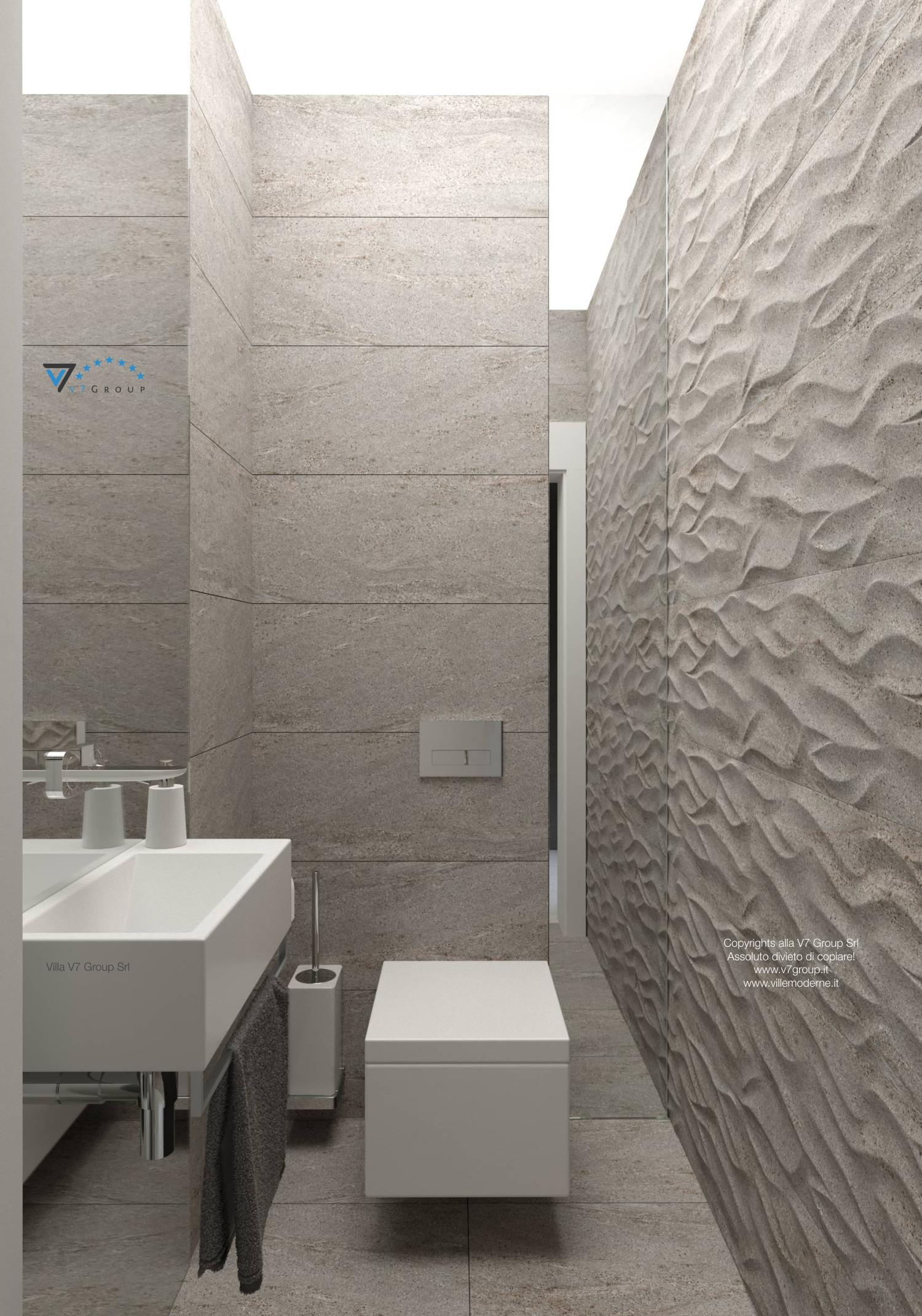 Immagine Villa V42 (progetto originale) - sanitari del bagno