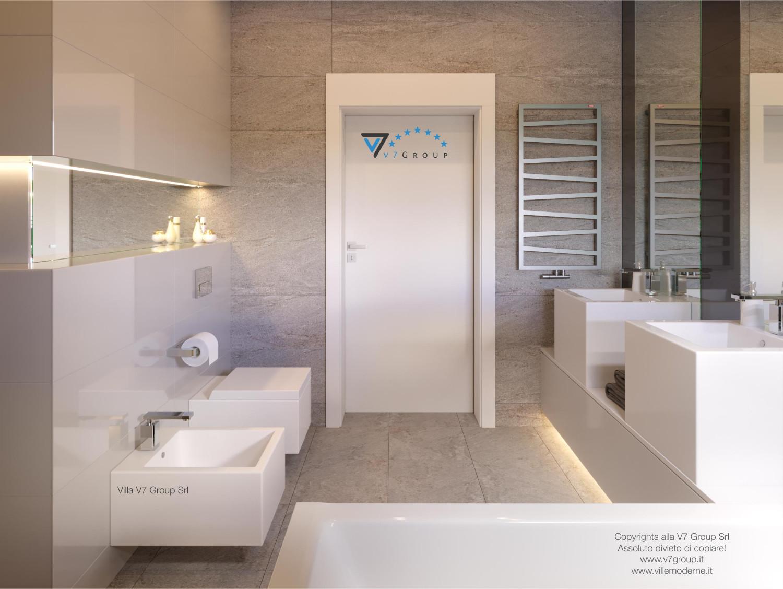 Immagine Villa V42 (progetto originale) - l'entrata al bagno