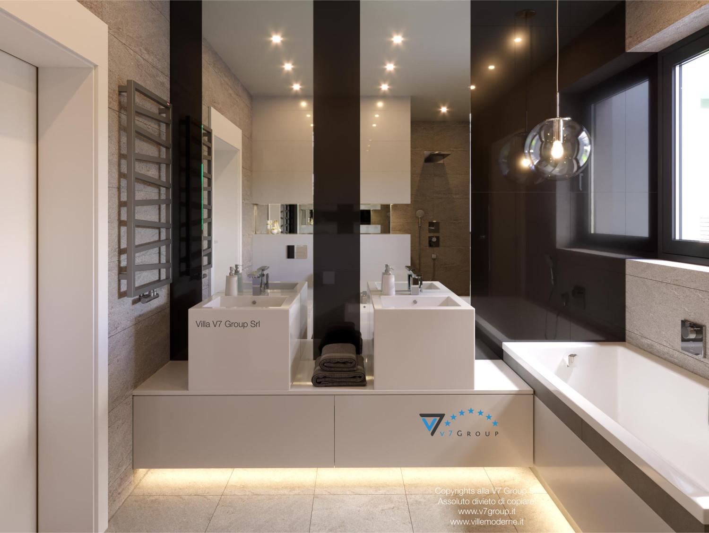Immagine Villa V42 (progetto originale) - la vista del secondo bagno
