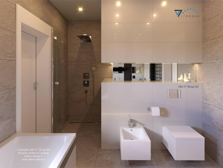 Immagine Villa V42 (progetto originale) - i sanitari e la doccia