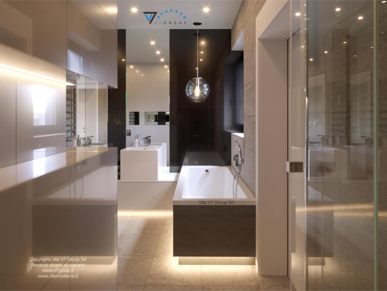 Immagine Villa V42 (progetto originale) - la vasca da bagno