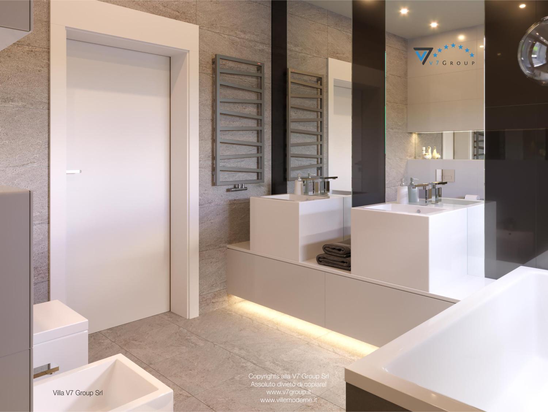 Immagine Villa V42 (progetto originale) - il design del secondo bagno