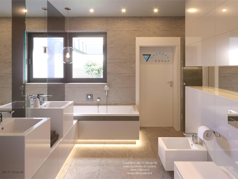 Immagine Villa V42 (progetto originale) - l'entrata al secondo bagno