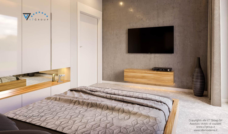 Immagine Villa V42 (progetto originale) - interno 26 - camera matrimoniale