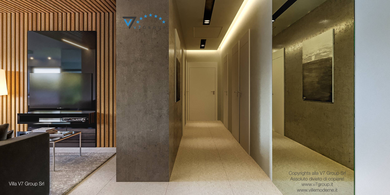 Immagine Villa V42 (progetto originale) - il corridoio interno