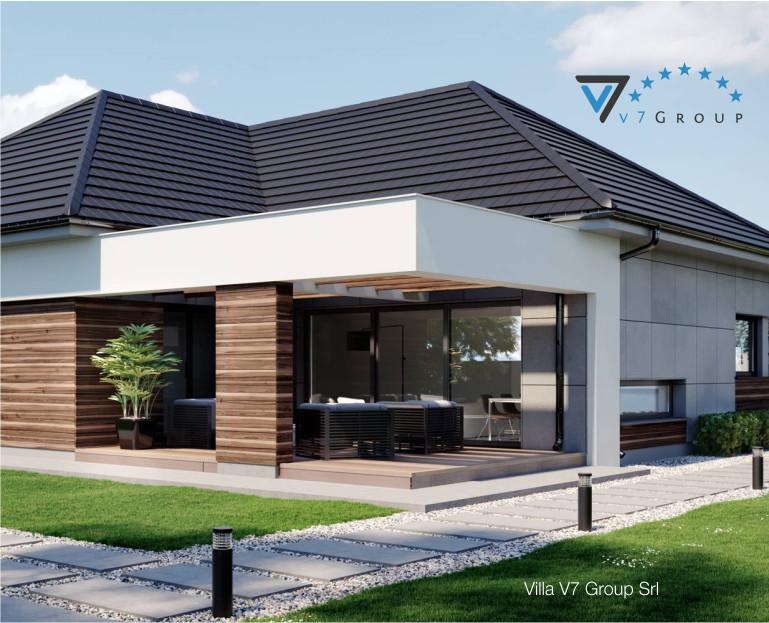 Villa v43 progetto originale il progetto e la for Progetto casa piccola