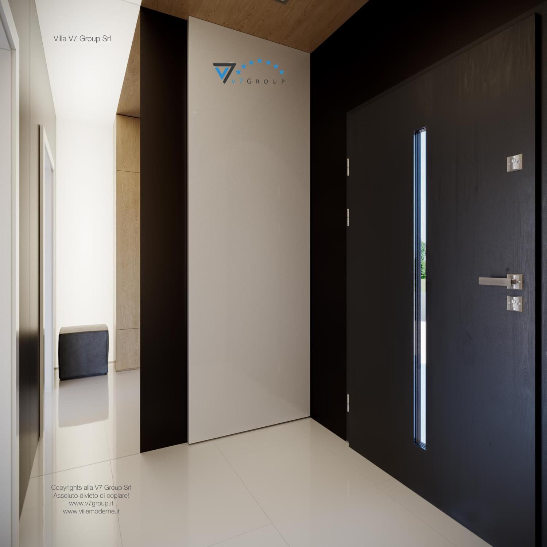 Immagine Villa V44 (progetto originale) - il portone d'ingresso dall'interno