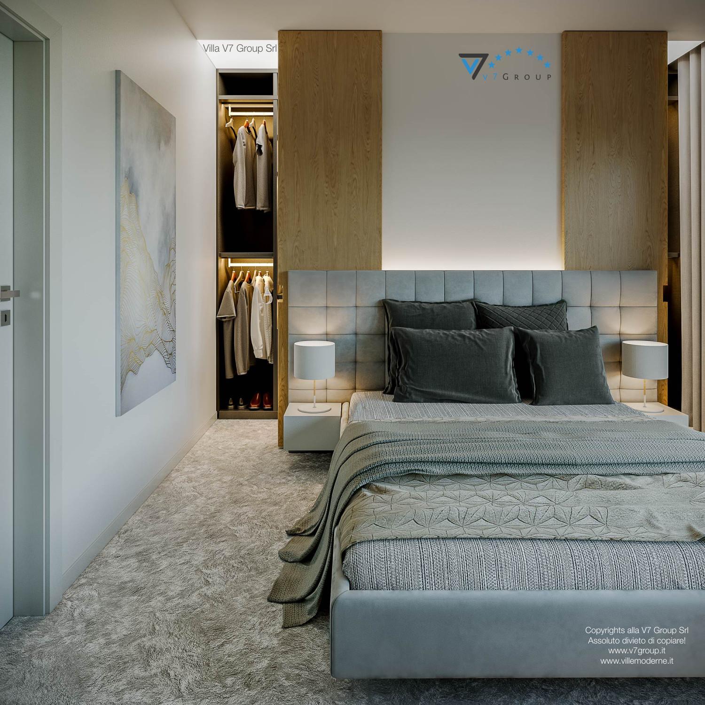 Immagine Villa V44 (progetto originale) - il grande letto