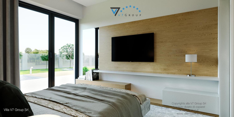 Immagine Villa V44 (progetto originale) - la sistemazione della camera