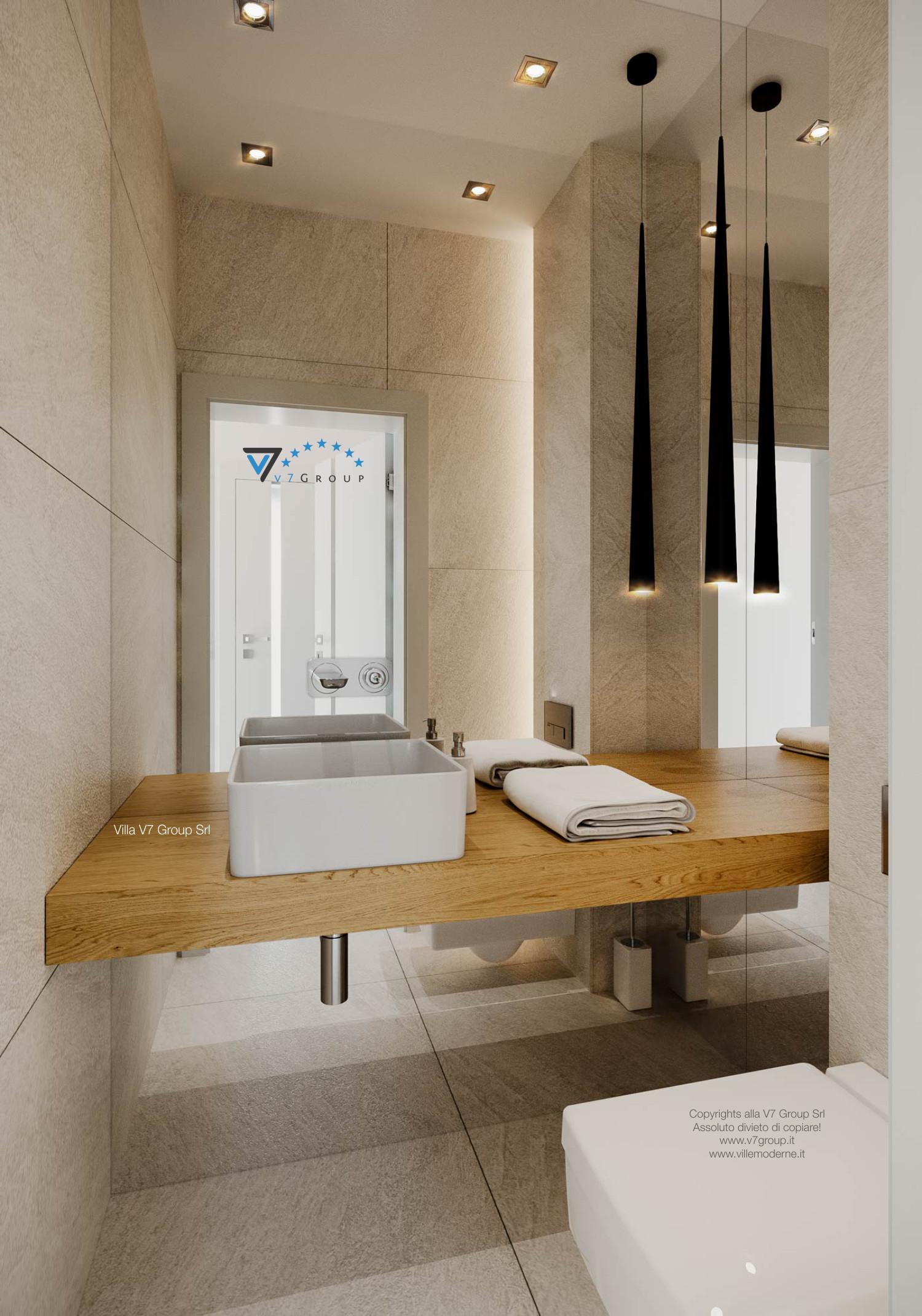 Immagine Villa V44 (progetto originale) - lo specchio del bagno
