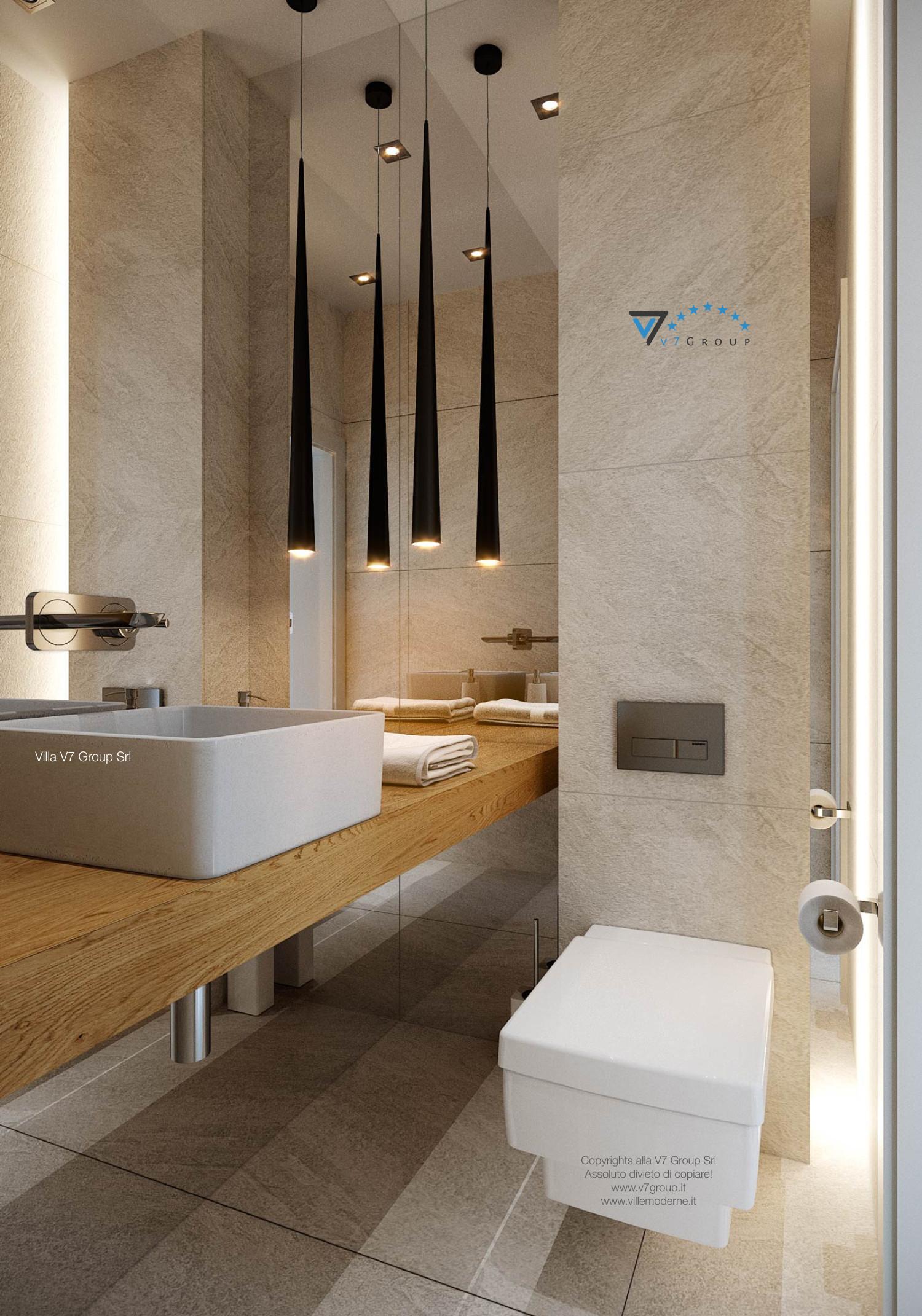 Immagine Villa V44 (progetto originale) - interno 20 - bagno