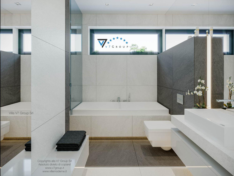 Immagine Villa V44 (progetto originale) - la sistemazione del secondo bagno