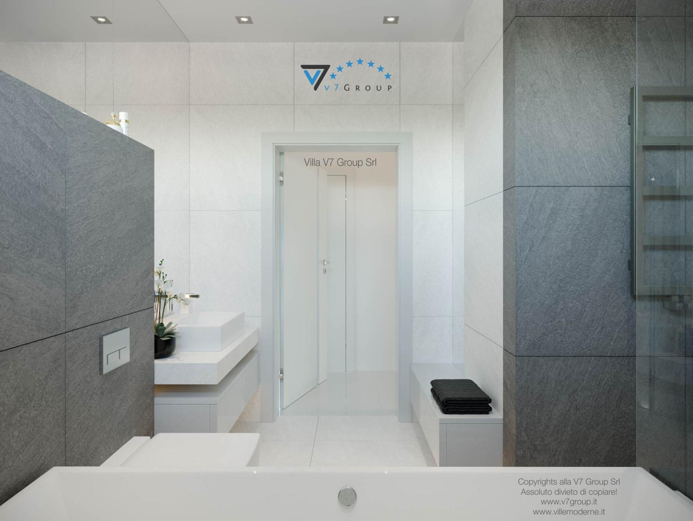 Immagine Villa V44 (progetto originale) - la porta del bagno