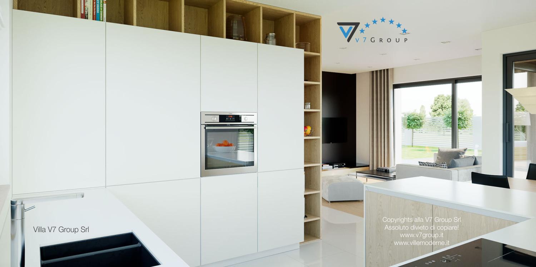 Immagine Villa V44 (progetto originale) - i mobili della cucina