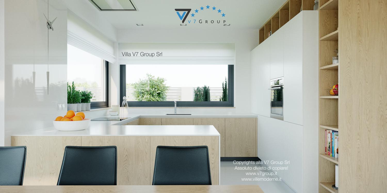 Immagine Villa V44 (progetto originale) - il design della cucina