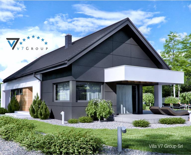 Immagine Villa V44 (progetto originale) - il design esterno della villa