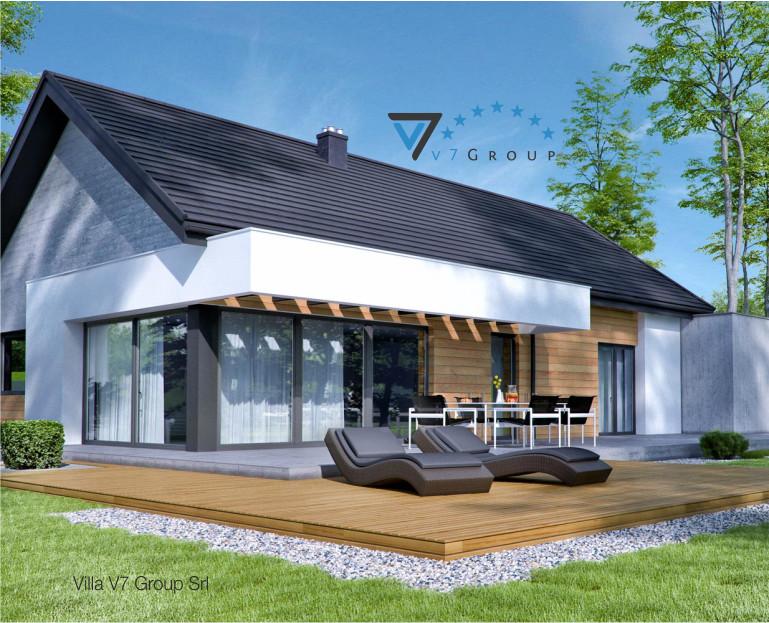 Immagine Villa V45 (G2) - il dettaglio del terrazzo esterno