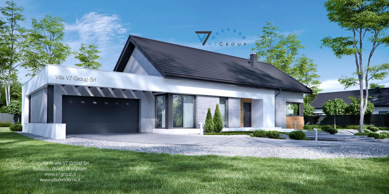 Immagine Villa V45 (G2) - il garage grande