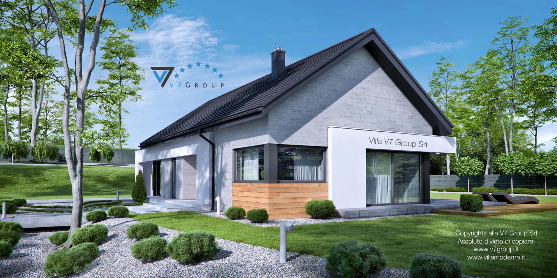 Immagine Villa V45 (G2) - la sistemazione esterna della villa