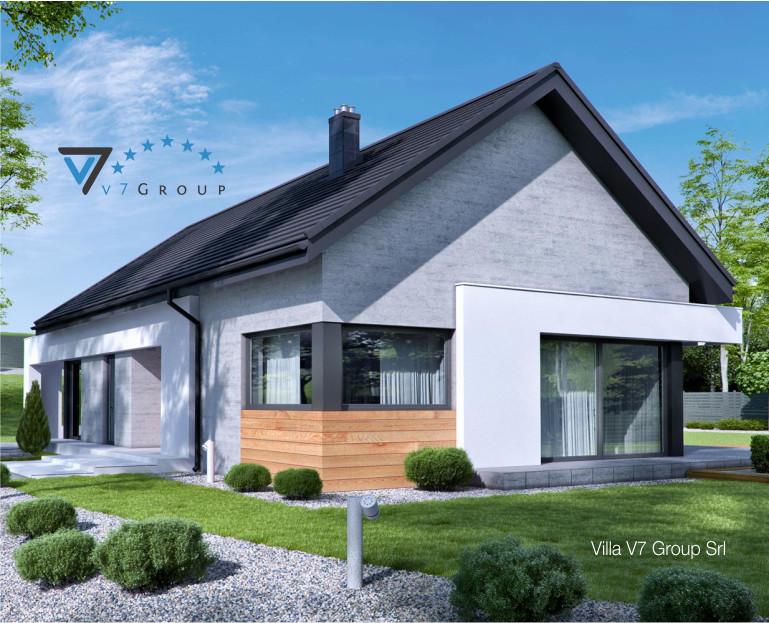 Immagine Villa V45 (G2) - la struttura esterna ingrandita