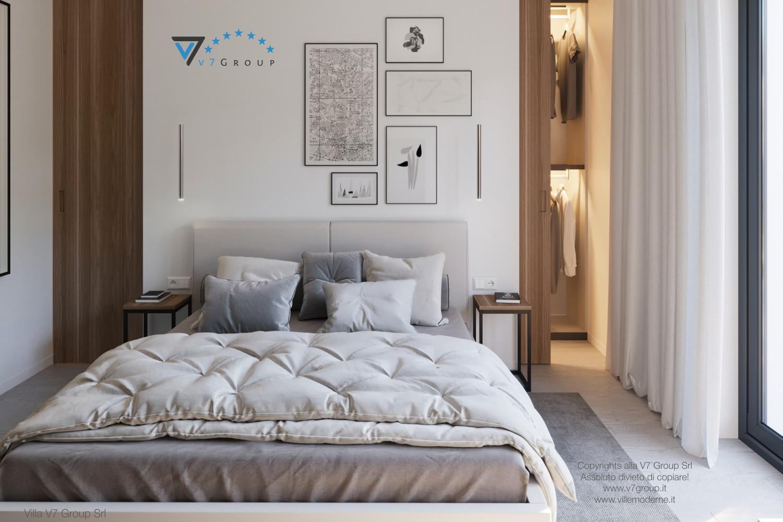 Immagine Villa V45 (progetto originale) - interno 10 - camera matrimoniale