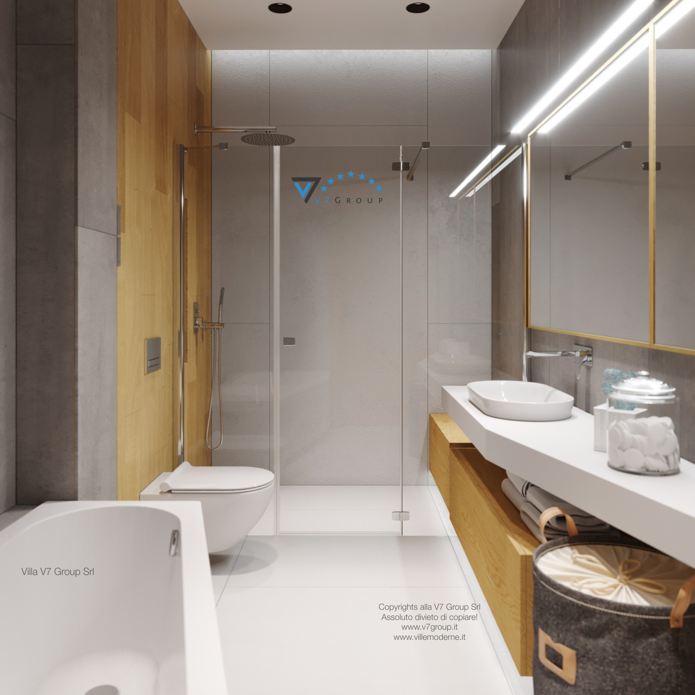Immagine Villa V45 (progetto originale) - la doccia in fondo