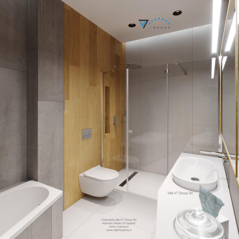 Immagine Villa V45 (progetto originale) - il design del bagno