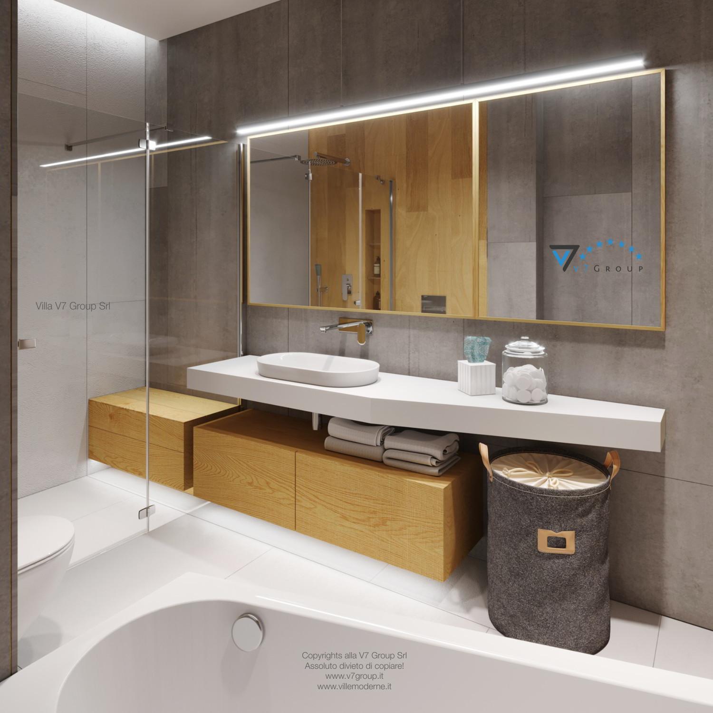 Immagine Villa V45 (progetto originale) - il lavandino e lo specchio